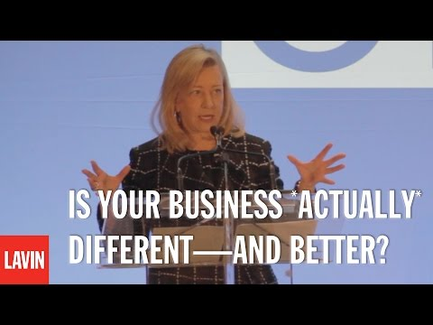 Bonnie Brooks: Is Your Business *Actually* Different—and Better?