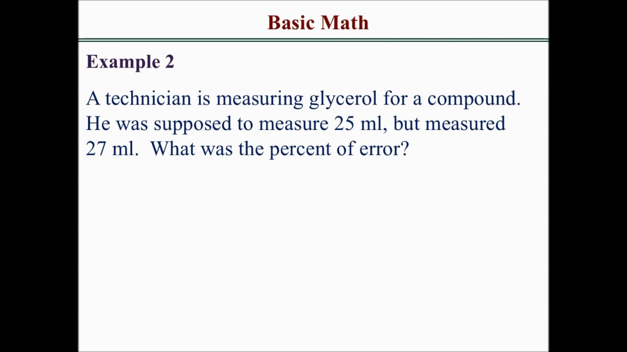 How to solve basic math calculation problems - YouTube