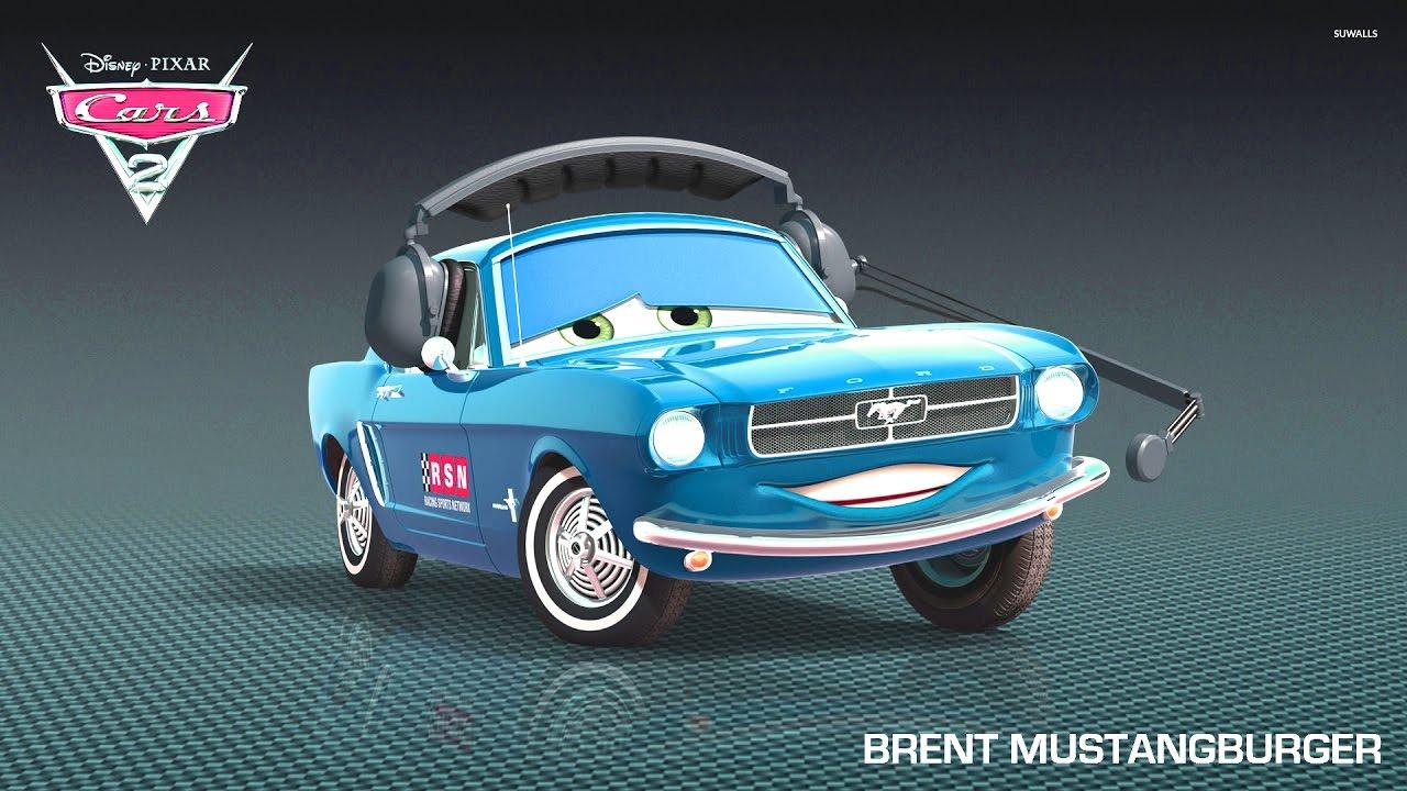 Brent Mustangburger Cars