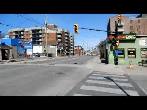 WALKING BRONSON STREET IN OTTAWA ONTARIO -04-23-18