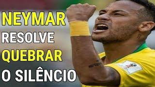 Neymar quebra o silêncio APÓS DERROTA na copa e o que diz ABALA