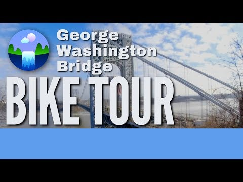 NYC George Washington Bridge Biking Tour