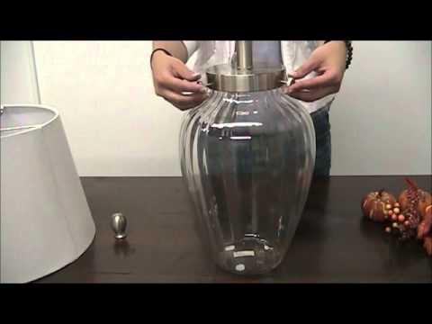 Decorating With Glass Vase Lamp Sturbridge Yankee Workshop Youtube