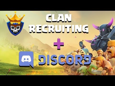 Clash of Clans Recruiting Tool + Discord Integration!  Huge Update!!