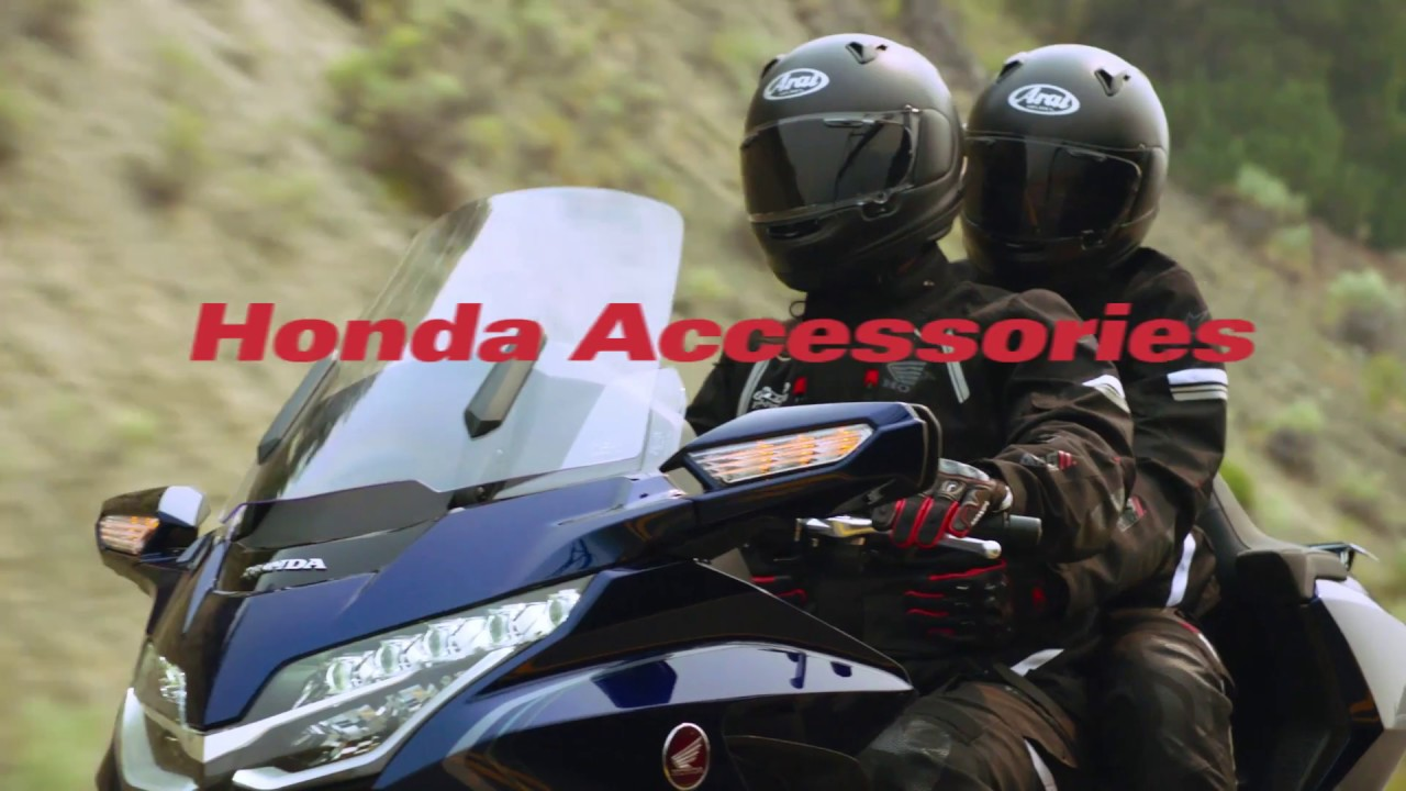 Introducing the 2018 Gold Wing Accessories - YouTube