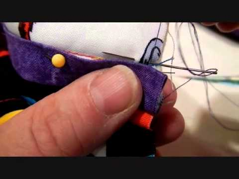 BLIND STITCHING the right way!