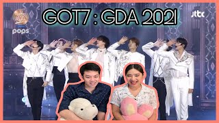 [Thai Reaction] GOT7 ( 갓세븐 ) l Golden Disk Award 2021 l น้อง…