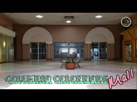 Dead Mall - Columbia Colonnade - Bloomsburg, PA