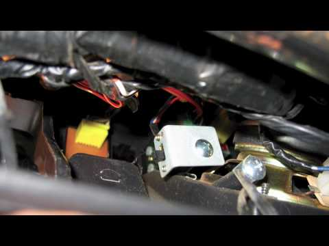 Suzuki Sidekick hidden switch - YouTube
