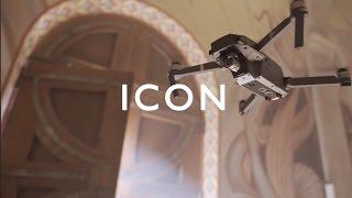 Icon | Saint-Michel du Var monastery frescoes | Dji Mavic Pro