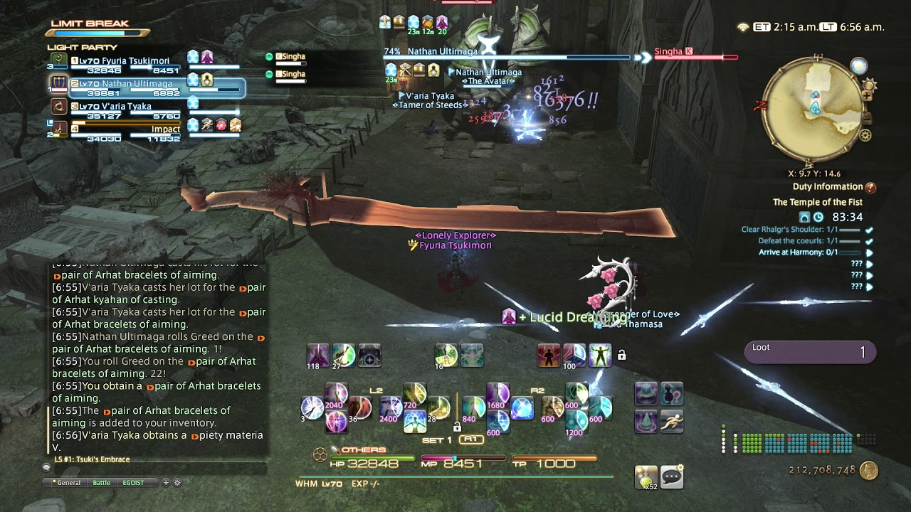 FFXIV Stormblood Gameplay 36 White Mage The Temple