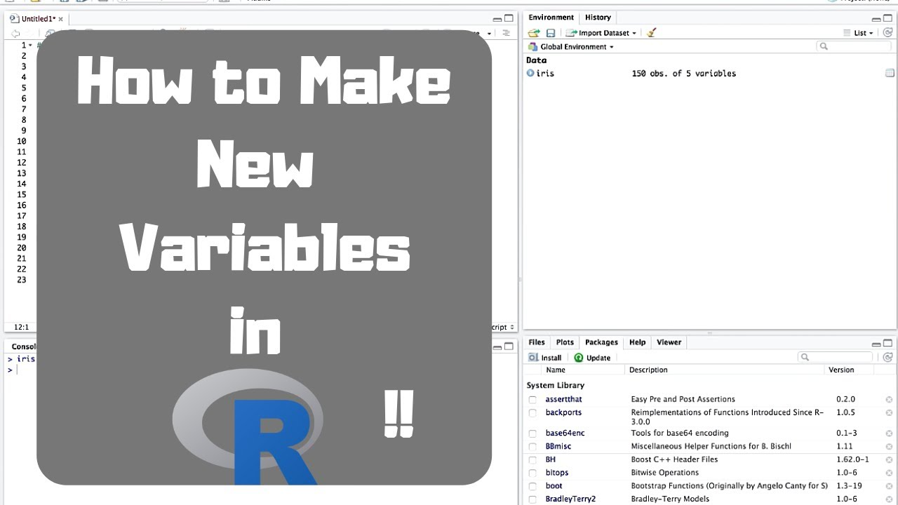 How to create new variables in R - How to dplyr mutate function (verb)