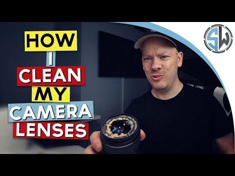 How I clean my DSLR camera lenses!