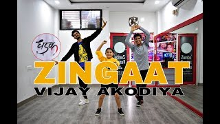Zingaat Hindi | Dhadak | Dance Choreography By Vijay Akodiya| Ishaan & Janhvi |