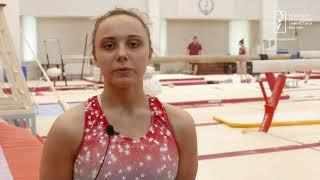Контрольная тренировка женской сборной команды перед II Европейскими играми