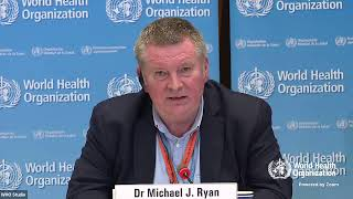 Live from WHO Headquarters - COVID-19 daily press briefing 23 March 2020