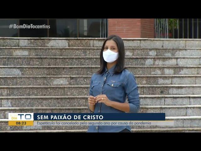 Artistas se emocionam ao lembrar do espetáculo Paixão de Cristo, cancelado pela pandemia.