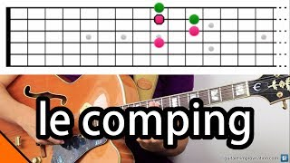 Le comping (accompagnement en guitare jazz)