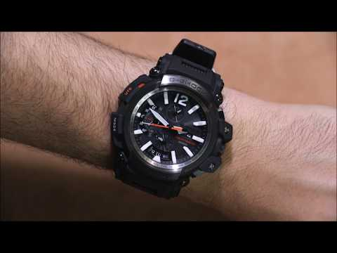 Casio G-Shock Master Of G Gravitymaster GPW-2000 GPS Bluetooth Watch Review | aBlogtoWatch