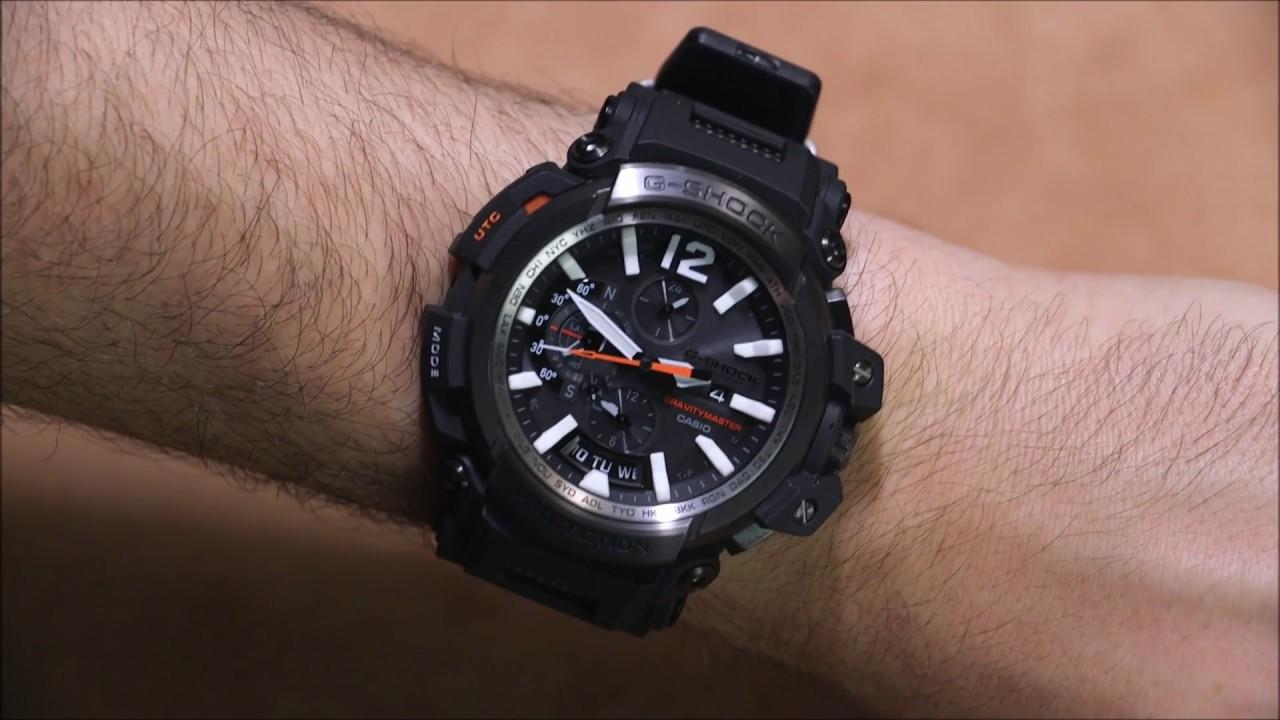 a048692a9f Casio G-Shock Gravitymaster GPW-2000 GPS Bluetooth Watch Review ...
