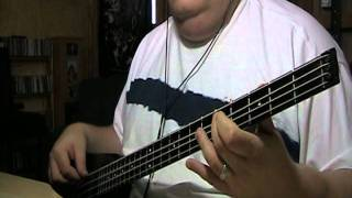 The Moody Blues Nights In White Satin Bass Cover