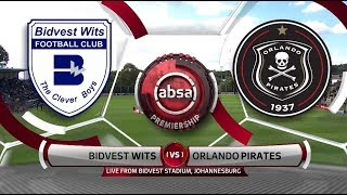 Absa Premiership 2018/19 | Bidvest Wits vs Orlando Pirates