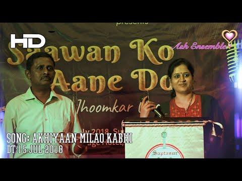 NandiniAshok - Akhiyaan Milao Kabhi - Saptasur HD - Karaoke 15-Jul-2018
