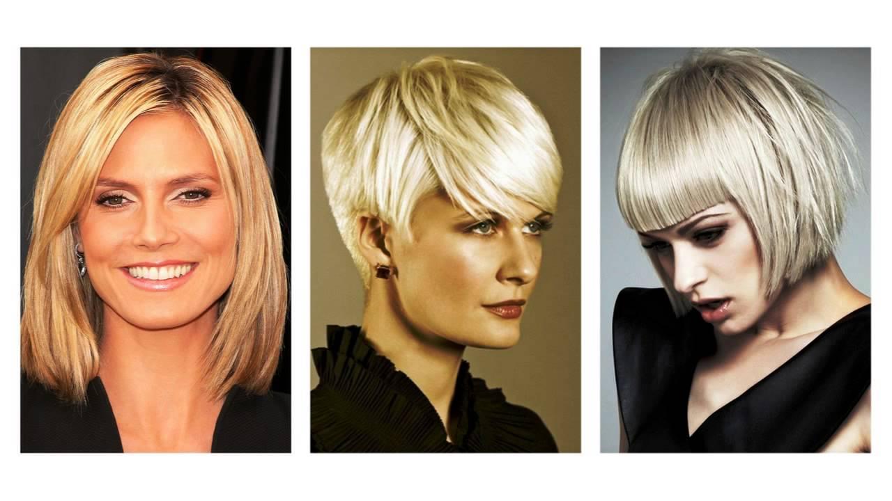 Krótkie Blond Włosy Youtube