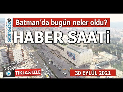 BATMAN'DA BUGÜN NE OLDU?