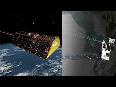 NASA missions study Earth's frozen water: GRACE-FO & ICESat-2