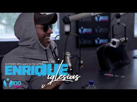 Enrique Iglesias Interview Y100 Miami   Move To Miami