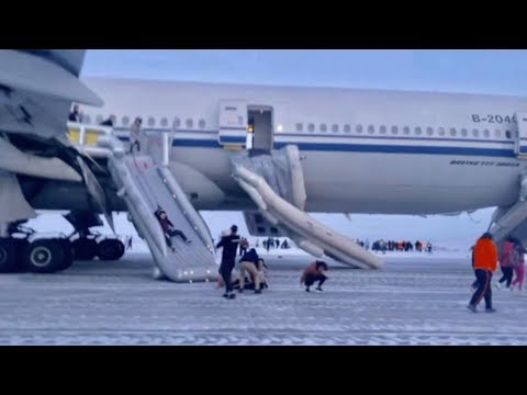 Aviation Blog - Jay Ratliff - Faulty Fire Alarm Forces Emergency Evacuation (in Siberia!)