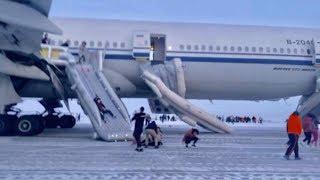 False fire alarm Air China flight makes emergency landing in Russia