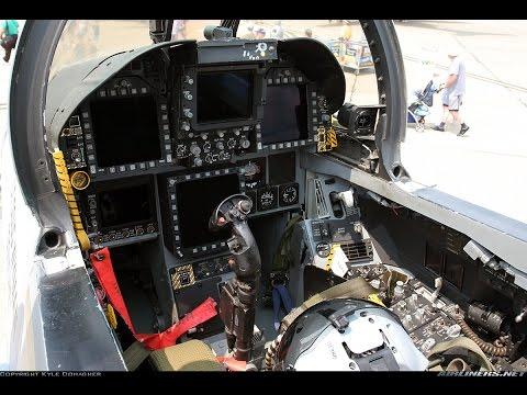 "✪ BMS 4.33 F/A-18 Hornet ""Cockpit Familiarization & Ramp Start"""