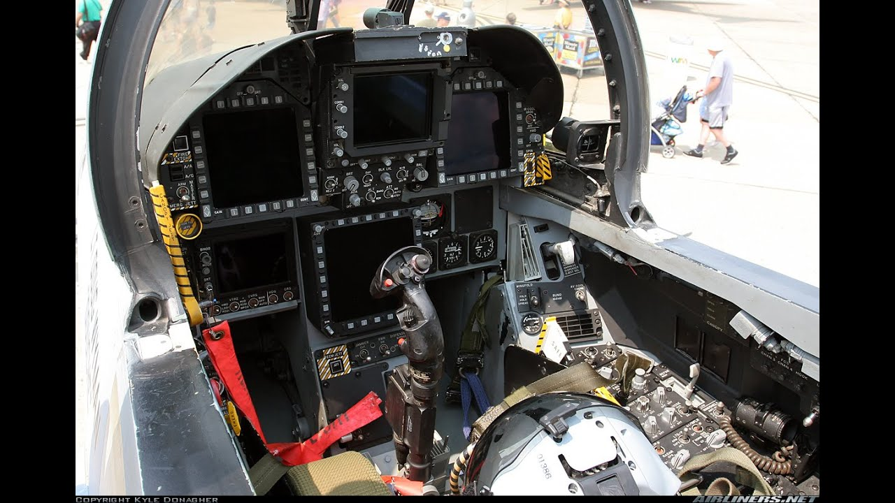 BMS 4.33 F/A-18... F 117 Stealth Fighter Cockpit