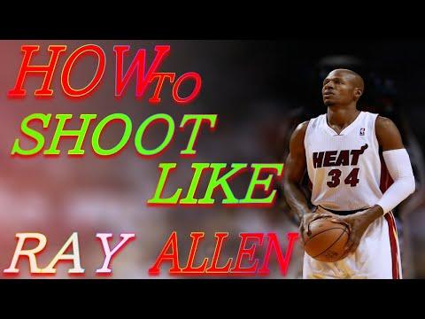 basketball shooting form] NBA shooters breakdown how to shoot like ...