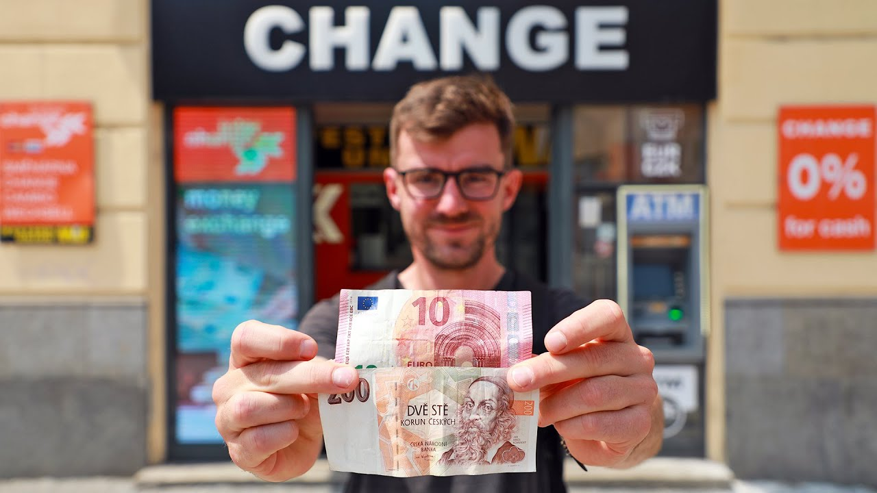 Where to Change Money in Prague? Easy & Safe + Map (2021 Guide)