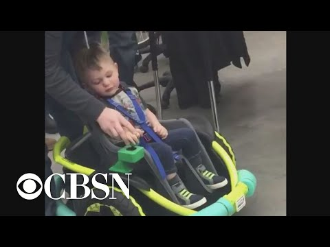 Bob Delmont - 2 year old boy gets Electric Wheel Chair built by HIGH SCHOOLERS!