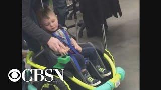 High school robotics team builds wheelchair for 2-year-old boy