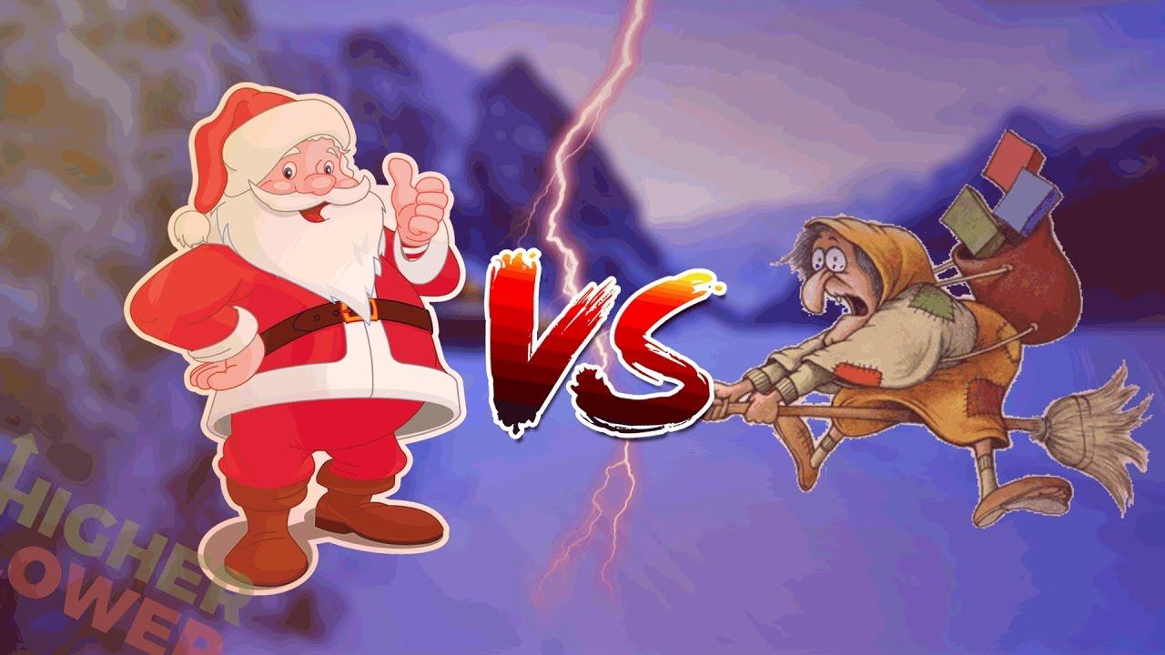 Befana E Babbo Natale.Babbo Natale Vs Befana Chi E Il Meglio Speciale Di Natale