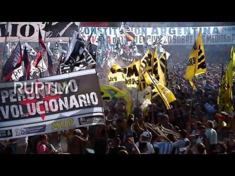 Argentina: Thousands hold anti-government protest on 41st anniversary of Videla's rise to power