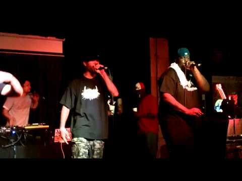 Cannibal OX - Raspberry Fields - Live 2013 Tampa Bay FL