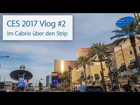 CES 2017 Vlog #2: Mit dem Cabrio über den Strip, der Vegas-Geruch und die Casinos