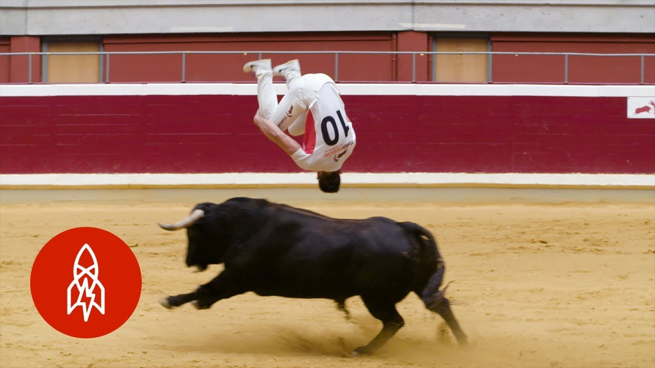 The Jaw-Dropping Art of Bull-Leaping