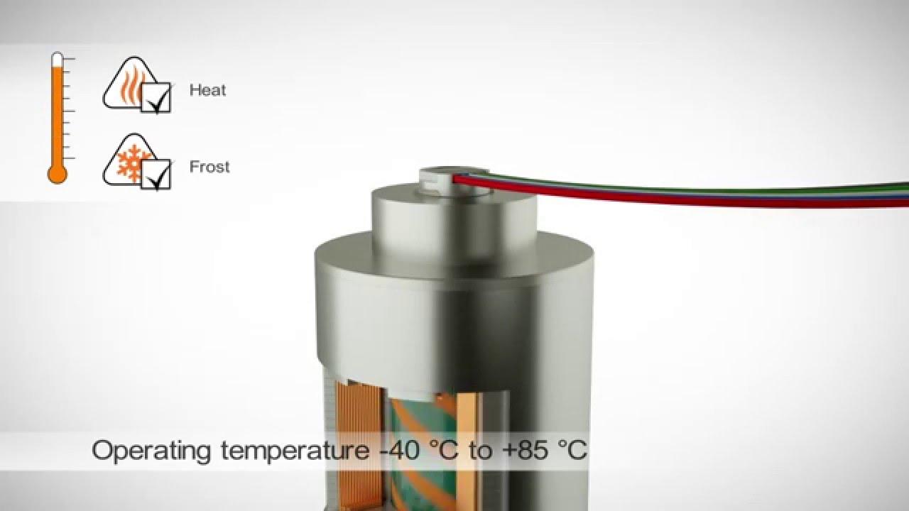 Super small non-contact rotary encoder RM08 - www rls si