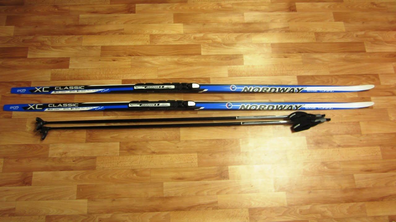 Лыжи Nordway Classic XC из Спортмастер. Какие купить лыжи .