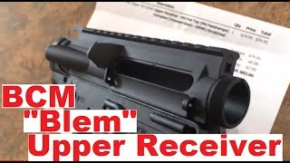 bcm bravo company upper receiver blem ar 15 blemished review