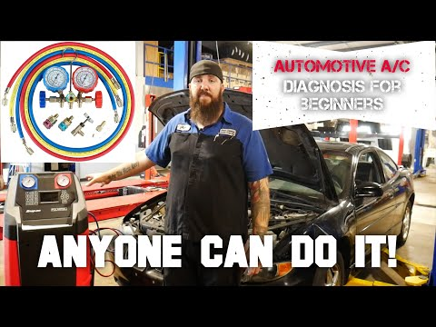 AUTOMOTIVE HOW TO: A/C SYSTEM DIAGNOSIS FOR BEGINNERS