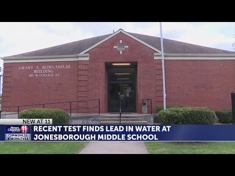 Test finds lead in water at Jonesborough Middle School