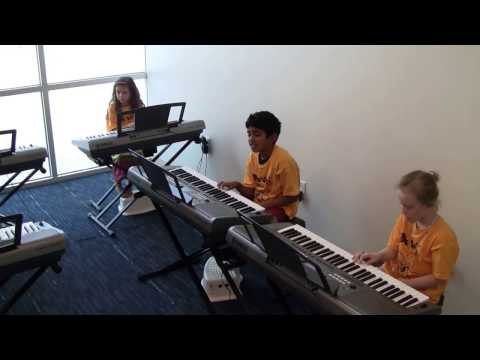 How to Teach Kids Playing Piano - Yamaha Music School - Frisco Plano TX
